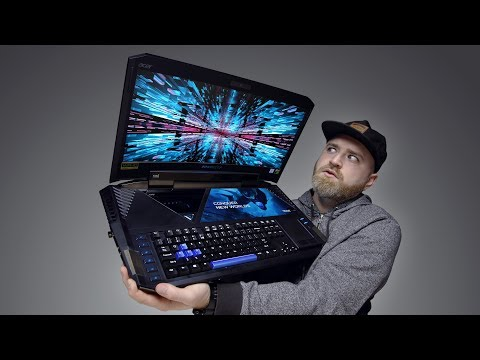 The Most Insane Laptop Ever Built...