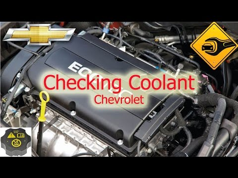 Checking Coolant   Chevrolet Cruze   🚗🛠