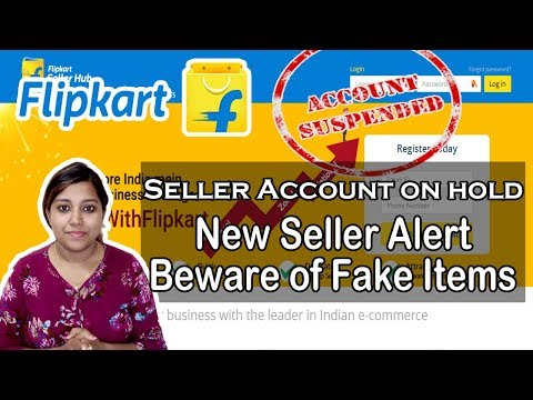 Flipkart seller account on Hold Suspended or Inactive| Selling Fake First copy Products?