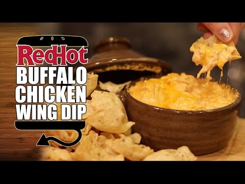 Superbowl Snack #2:  Frank's Buffalo Chicken Wing Dip Recipe  |  HellthyJunkFood