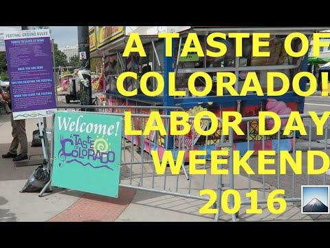 A Taste of Colorado! //Sanchez Fun