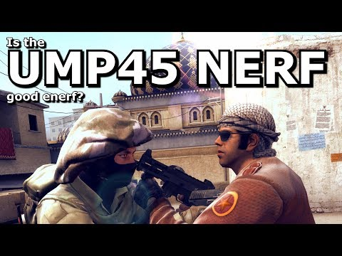 CS:GO's UMP45 Nerf- What does the change mean?