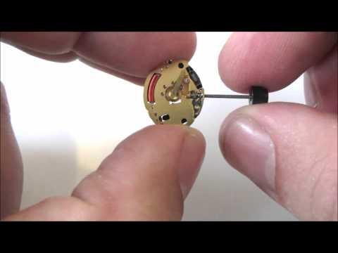 ETA Flatline 976.001 Analogue Quartz Watch Movement