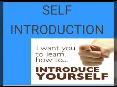 Best tips to self introduction essay