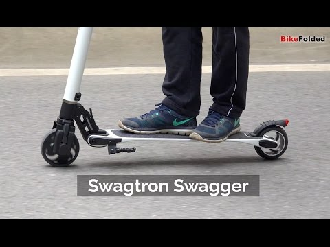 Swagtron Swagger Folding Electric Scooter Review - The World's Lightest Electric Scooter