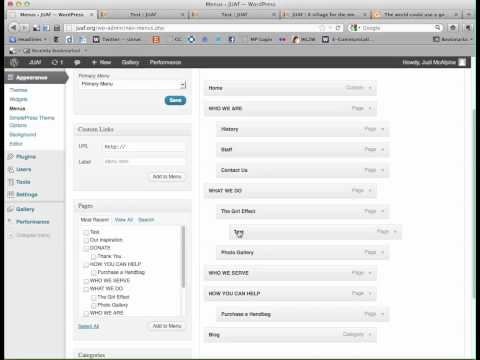 Add a menu/navigation bar item