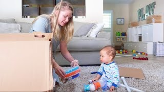 BABY GETS A SURPRISE PRESENT!