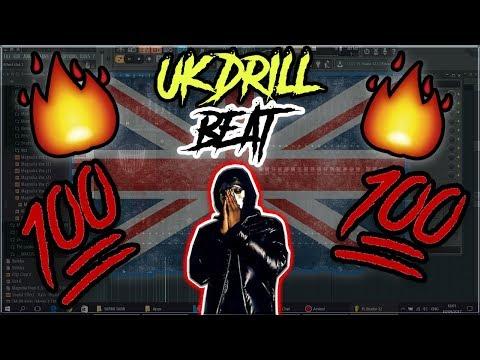 EASY!!! UK DRILL BEAT IN UNDER 10 MIN  From Scratch FL STUDIO 12