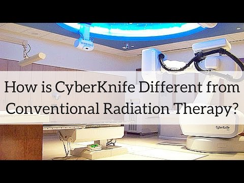How is CyberKnife Different from Conventional Radiation?