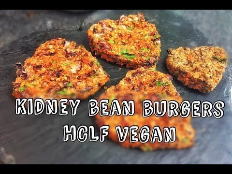 Bean Burgers | HCLF VEGAN