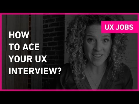 How to prepare for a UX job interview | Sarah Doody, User Experience Designer
