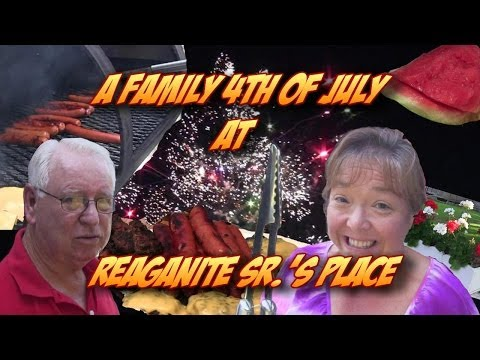 Our Family 4th of July at Reaganite Sr.'s Place