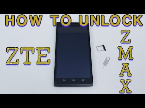 How to Unlock ZTE Zmax & Zmax Pro Any Network (T-Mobile, Family Mobile, AT&T, Cricket, MetroPCS, ET)