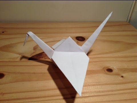 Origami Crane Tutorial (Super Easy)