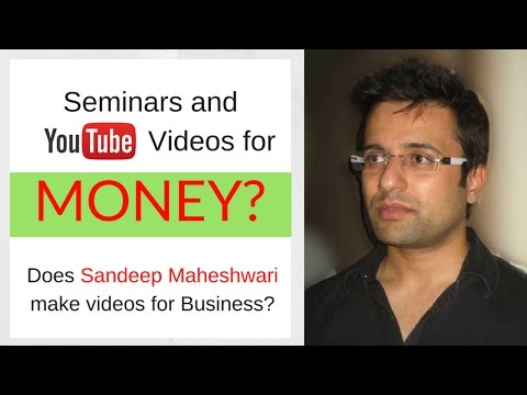SHOCKED! see why Sandeep Maheshwari never take money for these Life Changing Seminars