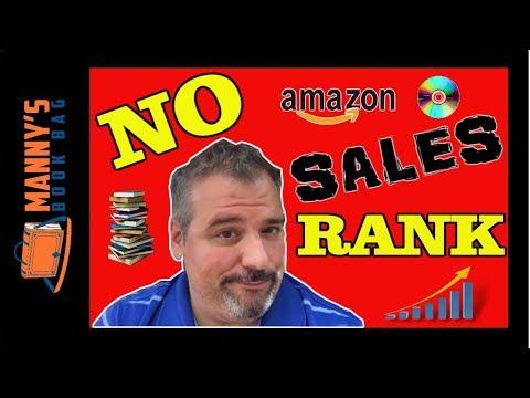 Amazon FBA Books With No Sales Rank