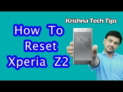 Sony Xperia Z2 Hard Reset - How to Unlock When You Forgot Password