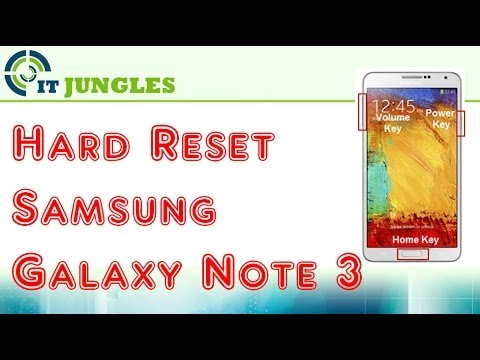 How to Hard Reset Samsung Galaxy Note 3 (4 Ways)