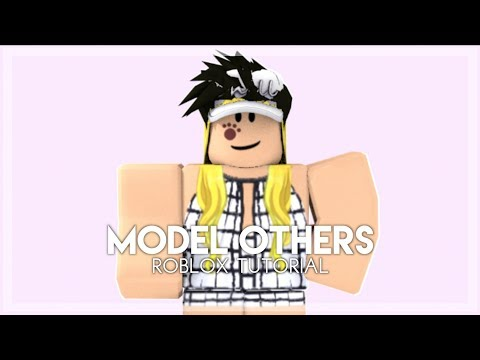 How To Make A Model Of Someone Else - Roblox Tutorial