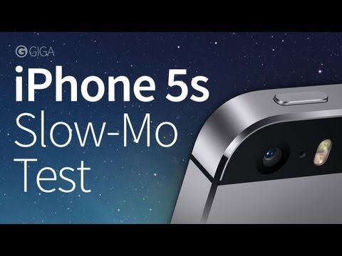 iPhone 5s - Slow-Motion Testvideo - GIGA.DE/APPLE