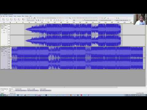 How to Combine Audio Tracks to Overlap to play simultaneously in Audacity