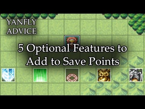 5 Optional Features to Add to Save Points - RPG Maker MV