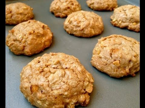 Gluten free oatmeal and peanut butter cookies