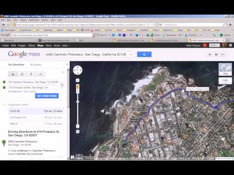 How to fix a route on Google Maps