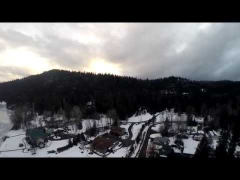 Drone First Flights in 4K over Newman Lake WA