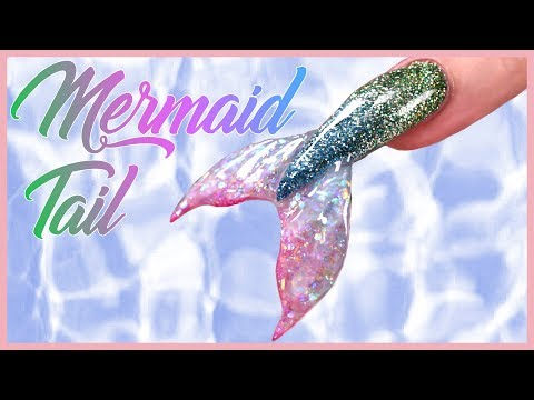 Mermaid Nail Design   Acrylic Nail Art