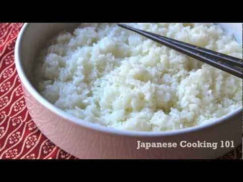 Sushi Rice Recipe - Japanese Cooking 101