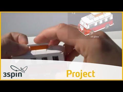 LEGO building instruction through Google Glass
