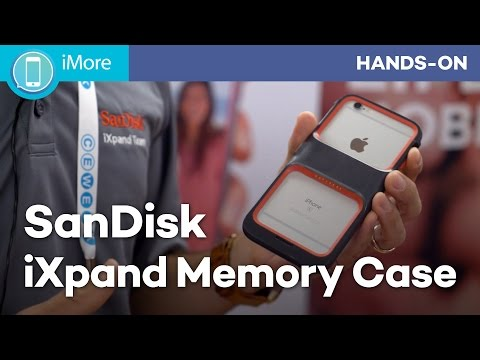 Add storage to your iPhone with Sandisk iXpand Memory Case
