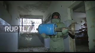 Syria: Mine clearance operation gets underway in liberated eastern Aleppo