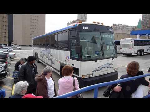 Greyhound bus ride experience