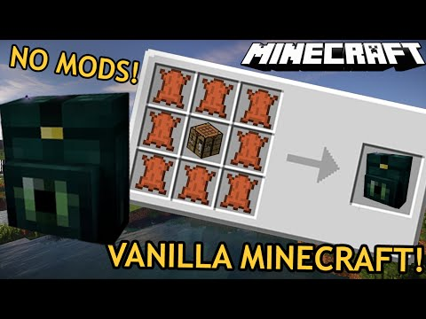 BACKPACKS WITH NO MODS!  Minecraft Single Command Block series EP2