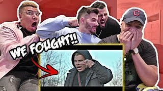 REACTING TO WolfieRaps Check the Statistics FT. Ricegum (Official Music Video) (Big Shaq Diss Track)