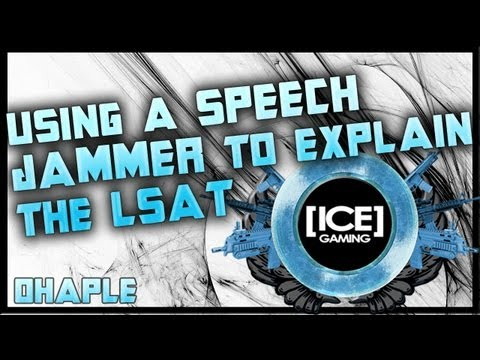 Using a Speech Jammer/Speech Zapper while explaining the LSAT: Funny! By: ohaple