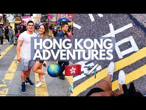 🇭🇰 WHAT HAPPENS IN HONG KONG | Holiday Vlog Part 1 ✈️✈️
