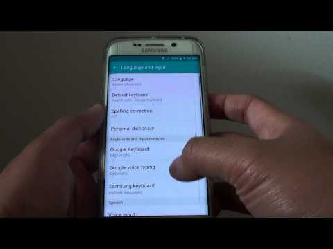 Samsung Galaxy S6 Edge: How to Change Google Keyboard Background Theme Color