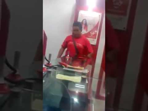 Customer ng LBC na walang valid ID nag-eskandalo