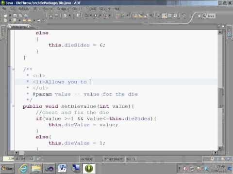 Java Eclipse generate useful javadoc document