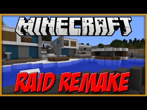 Minecraft: ''Raid'' Call of Duty: Black Ops 2 Multiplayer Map Remake