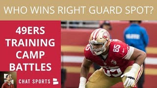 49ers Training Camp Preview: Top 3 Position Battles