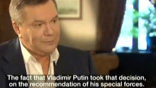 Янукович: Путин спас мне жизнь