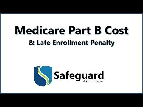 Medicare Part B Cost and Late Enrollment Penalty