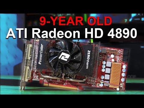ATI Radeon HD 4890 -- Tested in 2018 with Windows 10