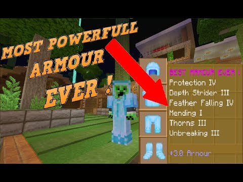 Minecraft Best Possible Amour Enchantments