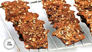 How to Make SPICY Pumpkin Crackers with Dates