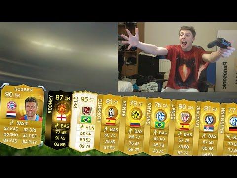 INSANE PLAYER IN 100K PACKS!! - FIFA 15